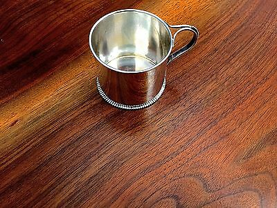 International Silver Co Sterling Silver Baby Cup No Monograms