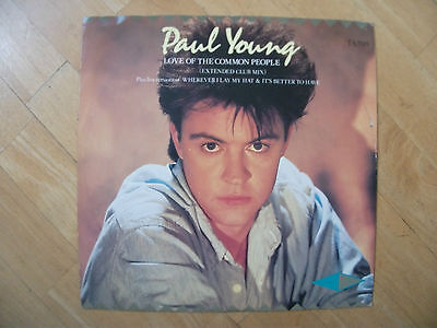 CBS Nr.TA3585 - Paul Young - Love Of The Common People 12""