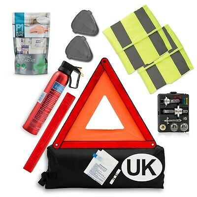 Car Travel Abroad kit - European car kit - Driving in Euro EU Emergency Uk New