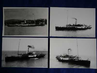 4 Paddle Steamers - Clacton Belle & Yarmouth Belle