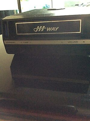 Hi-way 8 Track Stereo Player