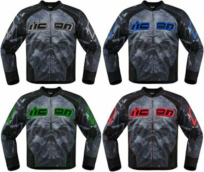 Icon Mens Overlord Reaver Textile Jacket