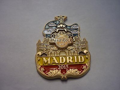 Hard Rock Cafe Pin Badge - Madrid - Icon City Series