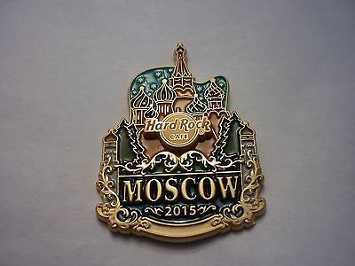 Hard Rock Cafe Pin Badge - Moscow - Icon City Series