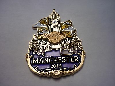 Hard Rock Cafe Pin Badge - Manchester - Icon City Series