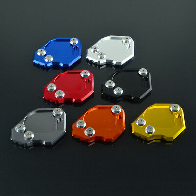 Motorcycle Side Kickstand Stand Extension Plate Pad For BMW F800GS 2008-2015