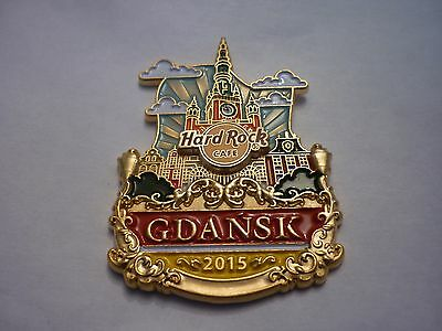 Hard Rock Cafe Pin Badge - Gdansk - Icon City Series