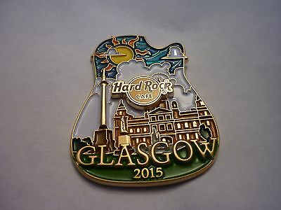 Hard Rock Cafe Pin Badge - Glasgow - Icon City Series