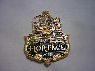 Hard Rock Cafe Pin Badge - Florence - Icon City Series