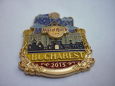 Hard Rock Cafe Pin - Bucharest - Icon City Series