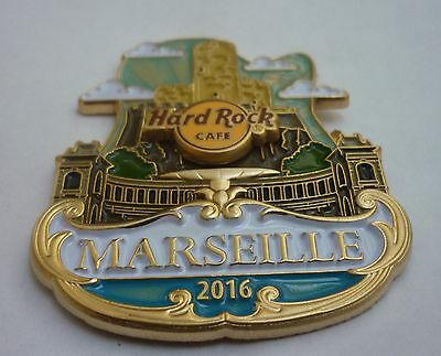 Hard Rock Cafe Pin - Marseille - Icon City Series