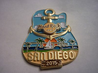 Hard Rock Cafe Pin Badge - San Diego - Icon City Series
