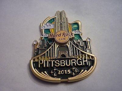 Hard Rock Cafe Pin Badge - Pittsburgh - Icon City Series