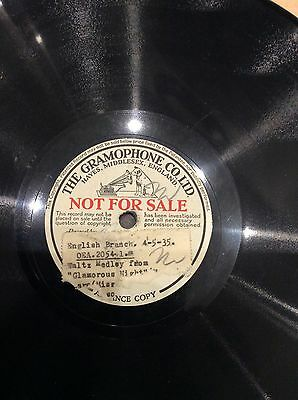 his masters voice Record 4/5/35