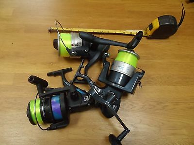 Open Face Large Spinning Sea Reels X3