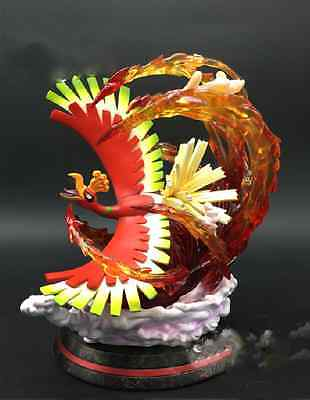 "Pokemon Resin Resine Figure Statue Ho-Oh Edition Limited Phoenix ""45 Days"""