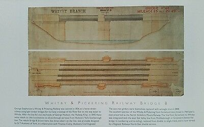 Unframed Railway Print: Whitby and Pickering Branch