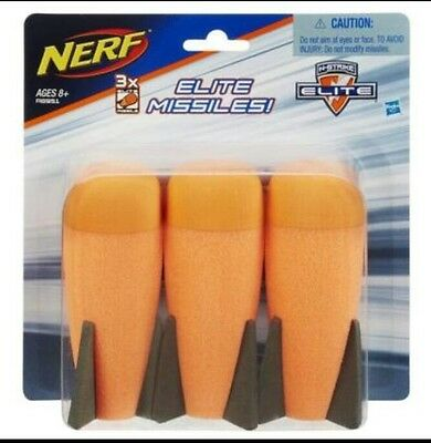Nerf N-Strike Elite 3 Missile Refill Pack - Outdoor And Sports Nerf Gun New