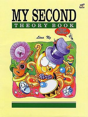 Lina Ng - My First, Second, Third Theory Book (All 3 books Available)