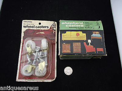 Shepherd Casters And Melard Wheel Casters For Tv Stand Mid Century Modern