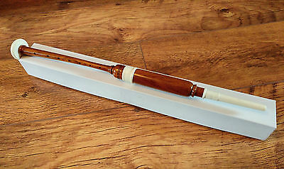 Scottish Bagpipe Practice Chanter Rosewood Natural Lacquer Finish + Reed