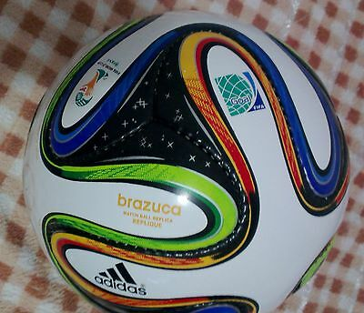 Adidas Brazuca Official Match Fifa World Cup-2014 Soccer Ball 6 Panels