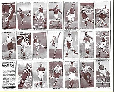 Churchman - Association Footballers (A) - 43/50 - 1938 - Very Good To Excellent