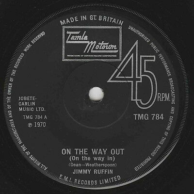 Jimmy Ruffin - On The Way Out - Uk Motown Original