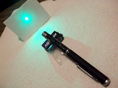 Argon Laser Green 514nm Coherent Optical Laser Diode Beam Pen Rare Hard to Find