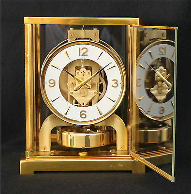 Jaeger LeCoultre Baby Atmos Clock, 526-5, Serviced, Timed, Runs Great