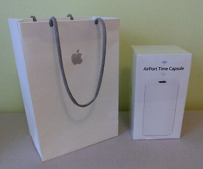 Apple Airport Time Capsule A1470 2TB Box Only W Apple Bag