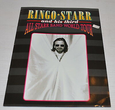 - RINGO STARR and his Third All Starr Band World Tour PROGRAM 1995 Beatles -