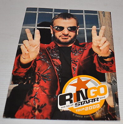 - RINGO STARR and his  All Starr Band World Tour PROGRAM 2000 Beatles -