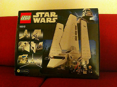 LEGO 10212 Star Wars Imperial Shuttle UCS NEW Sealed MISB