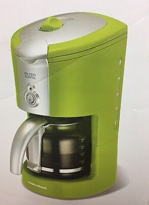 Morphy Richards Filter Coffee Maker Green