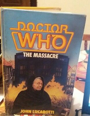 Doctor Who. THE MASSACRE. 1ST EDITION.(Ex library)