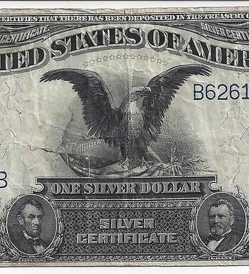 Series 1899 $1 Silver Certificate (Black Eagle) F/VF  (F-230)