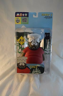 South Park Series 3 Chef Figure MOC Mirage Toys Comedy Central
