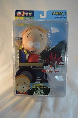 South Park Series 2 Timmy w/ Gobbles Figure MOC Mirage Toys Comedy Central