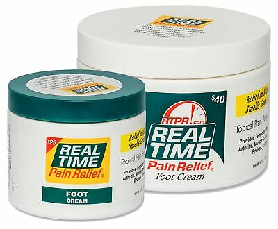 Real Time Pain Relief - Foot Cream