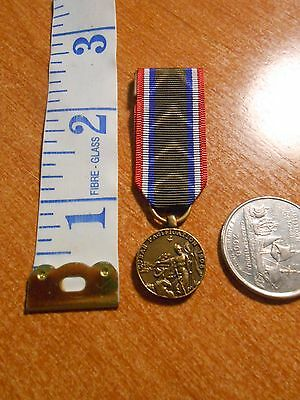 Reproduction United States Marine Corps Cuban Pacification Mini Medal