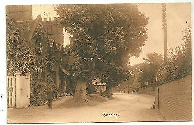 Berkshire postcard Reading Sonning