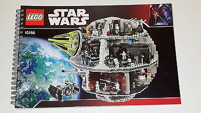 LEGO Star Wars Bauanleitung 10188 Todesstern Death Star Instruction Manual One