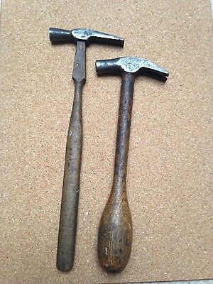 2 Small Vintage Hammers