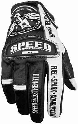 Speed And Strength Top Dead Center Leather Mesh Gloves