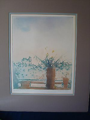 A Vintage Etching By Donald Wilkinson, Signed Ltd Edition.