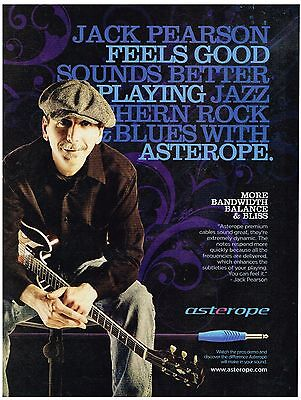 Asterope Cables - Jack Pearson  - 2010 Print Advertisement
