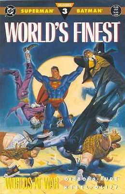 World's Finest (1990 series) #3 in Near Mint condition. FREE bag/board