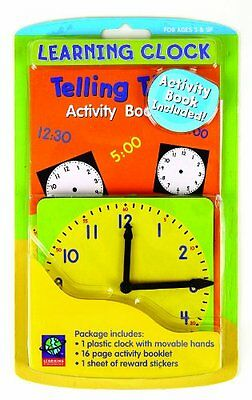 Eureka Learning Playground Hands On Learning, Learning Clock 480190