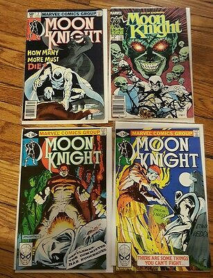 Moon knight comic lot